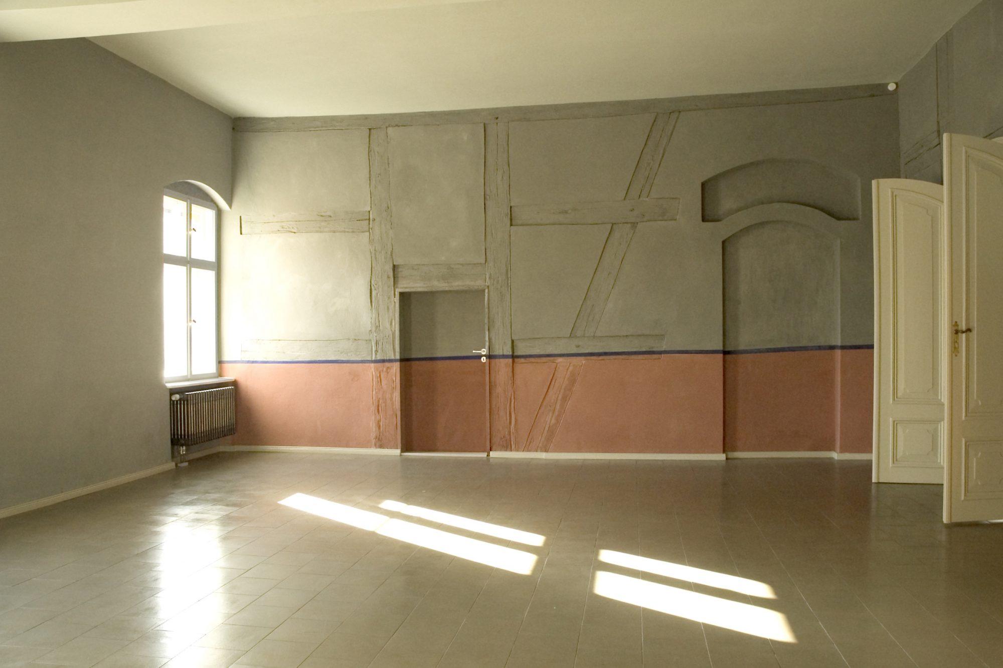 ehem. Küche, Innenwand 1687