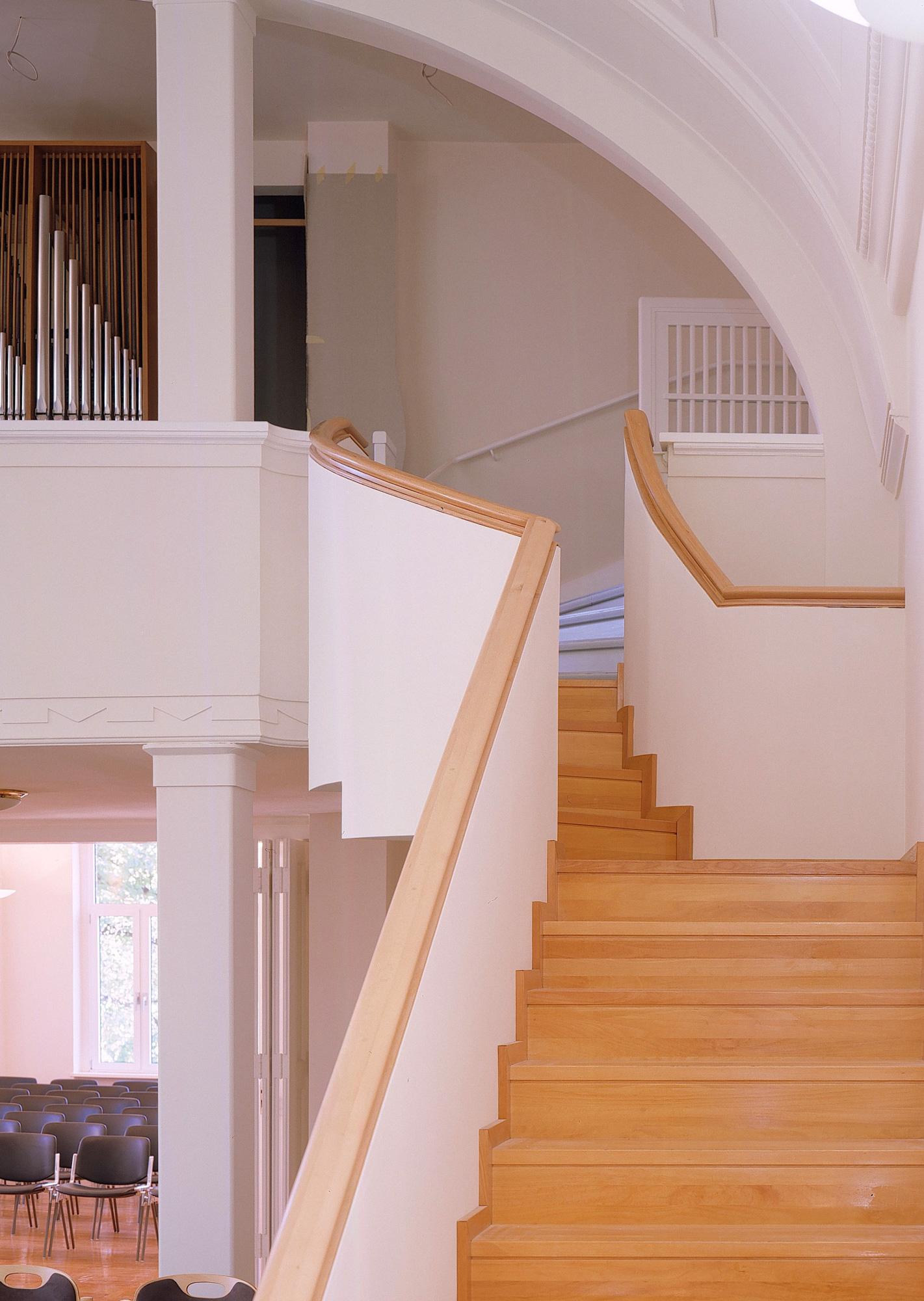 2. Fluchtweg, Treppe aus dem DG